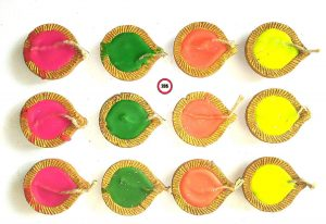 2DS Diwali Diya Set of 12
