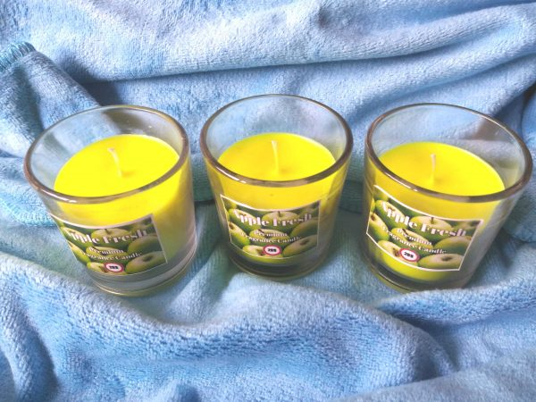apple fresh candles