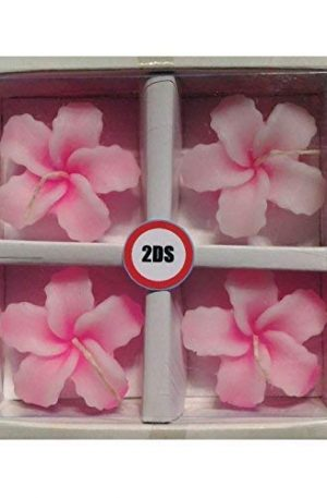 2DS Orchid floating candles Pink