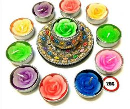 2DS Decorative T-light Candles with holder