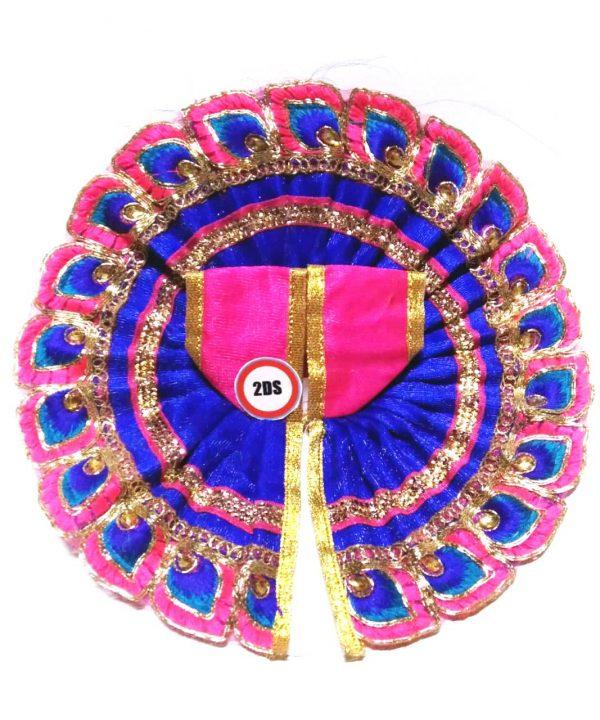 2ds Laddu Gopal Poshak Blue M