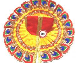 2ds Laddu Gopal Poshak Yellow M